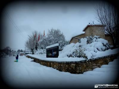 nieve, invierno, cañada; cañada real leonesa las hurdes palencia cuenca senderismo